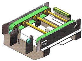 输送组件 ycaa0007 STEP格式 3D图纸 三维模型