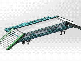 输送台车 ycaa0008 STEP格式 3D图纸 三维模型