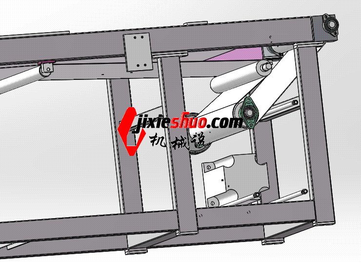 皮带线 ycaa0011 STEP格式 3D图纸 三维模型