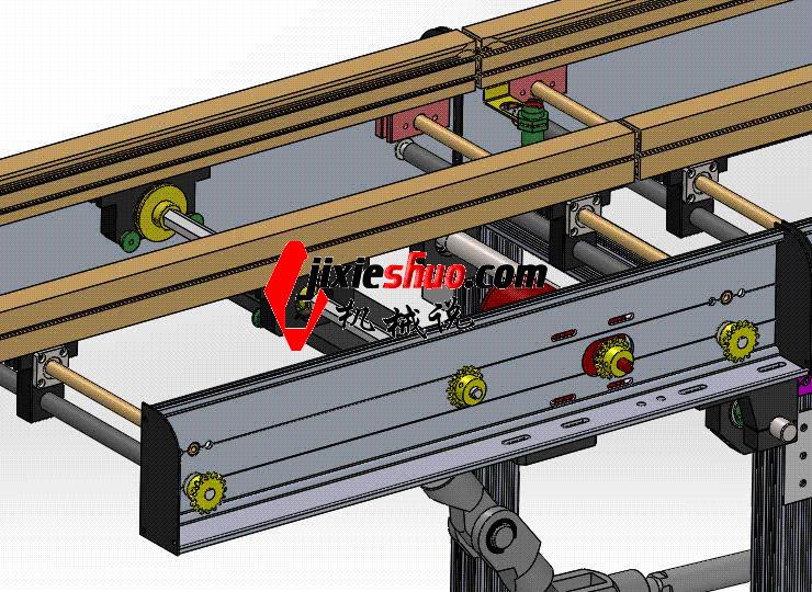 下降式接驳台 ycaa0017 Solidworks STEP格式 3D图纸 三维模型