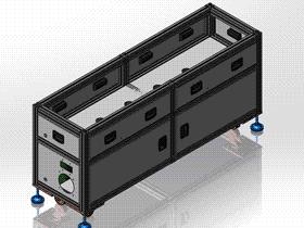 机架 ycab0001 STEP格式 3D图纸 三维模型