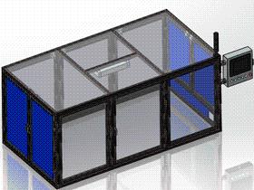 铝型材机罩 ycab0005 STEP格式 3D图纸 三维模型