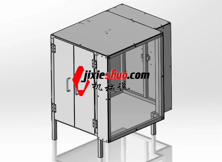 钣金外罩 ycab0007 STEP格式 3D图纸 三维模型