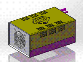 LED灯箱 ycab0008 STEP格式 3D图纸 三维模型