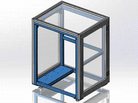 铝型材外罩 ycab0010 STEP格式 3D图纸 三维模型