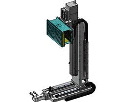 升降平移组件 ycac0001 STEP格式 3D图纸 三维模型