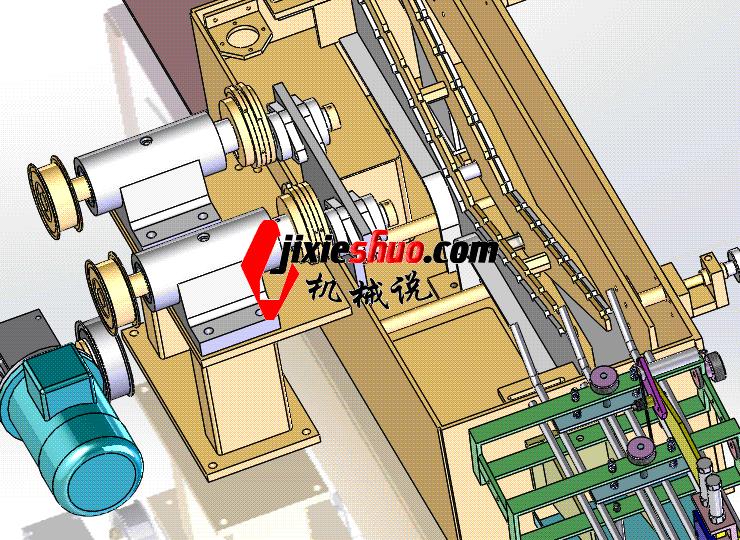 偏心送料机 ycac0005 STEP格式 3D图纸 三维模型