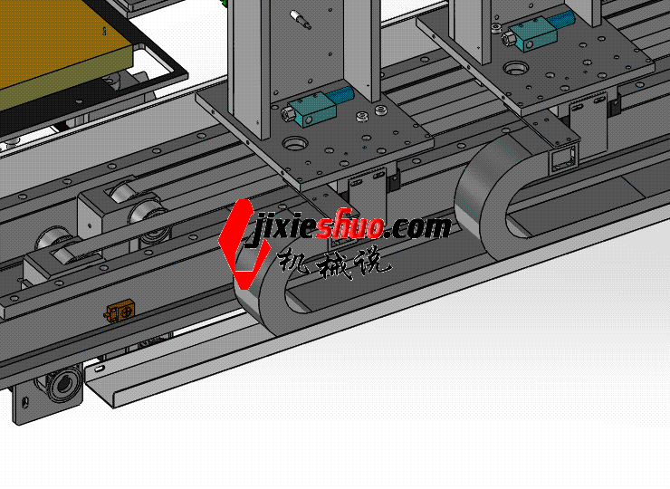 送料机械手 ycac0007 STEP格式 3D图纸 三维模型