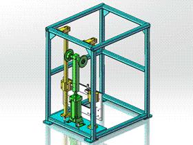 升降装置 ycac0010 STEP格式 3D图纸 三维模型