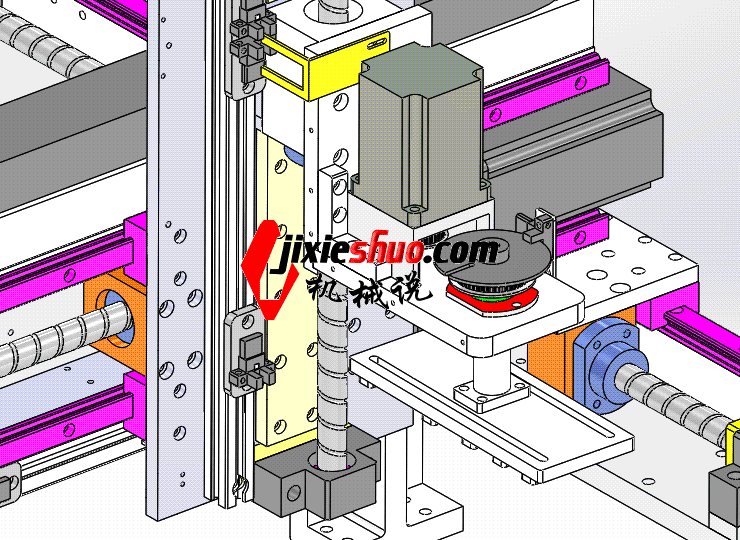 3轴送料机械手 ycac0012 STEP格式 3D图纸 三维模型
