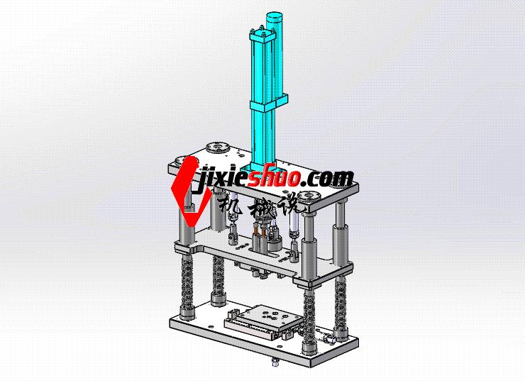 压装机 ycae1002 Solidworks STEP格式 3D图纸 三维模型