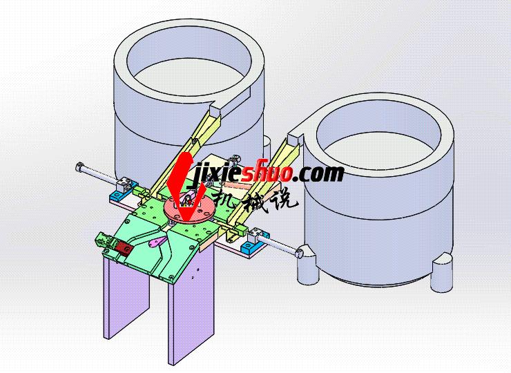 轴承压盖自动装配机 ycae1003 Solidworks STEP格式 3D图纸 三维模型