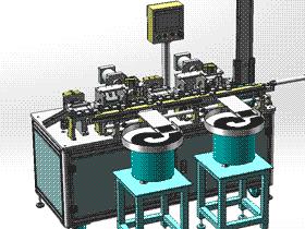 自动排针机 组装插针机 3D图纸素材 T316 非标机械设计参考 ZDAC2002