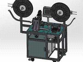 凸轮插针机 打PIN机3D图纸素材 T233  ZDAC2003