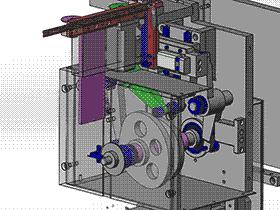 凸轮插针机 自动装配机 3D图纸 T138 ZDAC2004