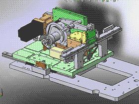 凸轮插针机 非标组装机 3D图纸模型 T130 ZDAC2005