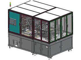 锂电池叠片机 自动组装机 ZDAF2004 带工程图 G920