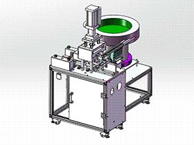 半自动光纤头组装机 ZDAB1007 solidworks 3D图纸 三维模型