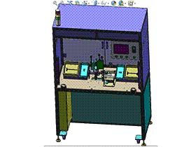 插头组装机 ZDAB1008 solidworks 3D图纸 三维模型