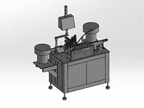光纤连接器组装机 ZDAB1010 solidworks 3D图纸 三维模型