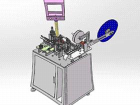 Micro USB母头组装机、非标迈克母头自动组装机 ZDAB1013 solidworks 3D图纸 三维模型