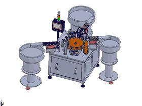 洗发水盖子组装 ZDAD1001 solidworks  3D图纸 三维模型