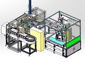 DN15球阀自动组装设备 ZDAD1004 solidworks  3D图纸 三维模型
