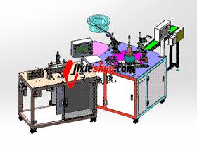 剃须刀自动上料组装机 带工程图 ZDAD2003 solidworks  3D图纸 三维模型