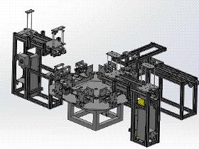 跳绳包装机 ZDAD2004 solidworks  3D图纸 三维模型