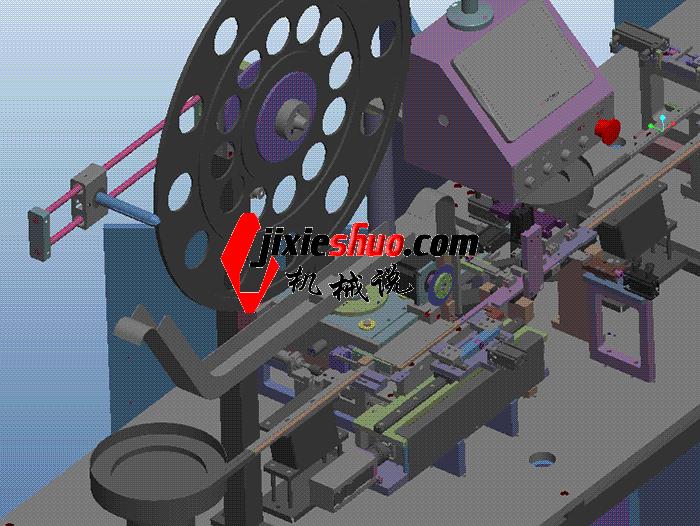 第日分享:20180305 LED灯插板机 3D图纸
