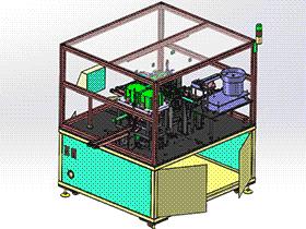电感器自动组装机 ZDAE1004 solidworks 3D图纸 三维模型
