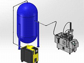 电子管自动装配机 ZDAE1008 solidworks 3D图纸 三维模型