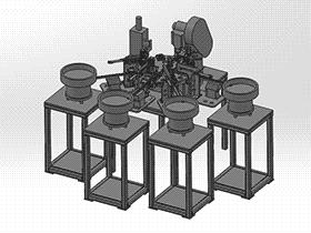 3M铜头组装 ZDAE1009 solidworks 3D图纸 三维模型