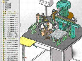 LED组装机 F51 ZDAE1010 solidworks 3D图纸 三维模型