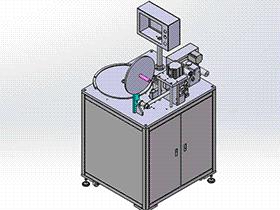 发热盘组装线 ZDAE1014 solidworks 3D图纸 三维模型