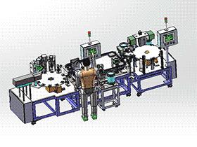 日式保护器装配机 ZDAE1015 solidworks 3D图纸 三维模型