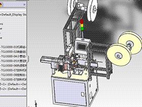 自动套管机 zdae2008 solidworks 3D图纸 三维模型