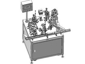微型马达转子绝缘片组装机 ZDAG1004 solidworks  3D图纸 三维模型