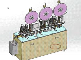 硬盘驱动器自动机 ZDAG1007 solidworks  3D图纸 三维模型