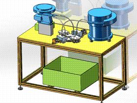 国产弹簧组装机 ZDAI2001 solidworks  3D图纸 三维模型
