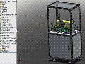 E型卡簧装配机 ZDAI2002 solidworks  3D图纸 三维模型