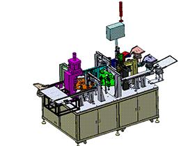油封组装设备 ZDAJ1001  solidworks 3D图纸 三维模型