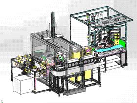 球阀自动装配机组装流水线 ZDAJ1002 solidworks 3D图纸 三维模型
