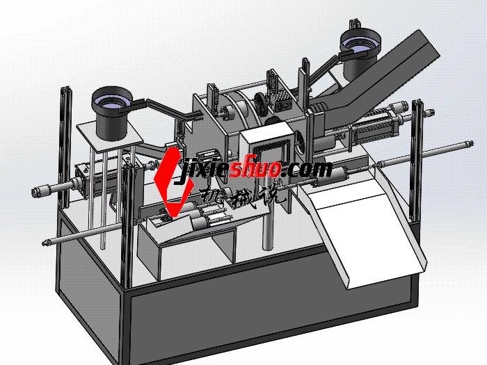 轴承扇叶装配自动机 zdaj2006 solidworks格式 3D图纸 三维模型