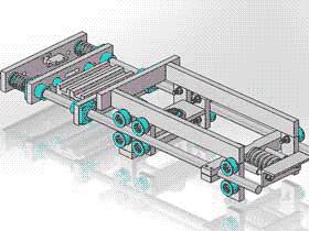 水平机制包封机结构 ZDBA1002 solidworks 3D图纸 三维模型