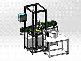 汽车零件包装机 ZDBA1004 solidworks 3D图纸 三维模型