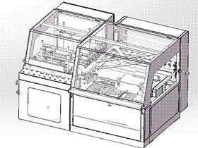 产品包装机设计图纸 ZDBA1005 solidworks 3D图纸 三维模型