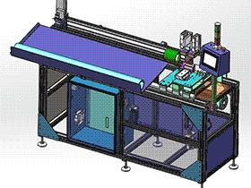 全自动在线切管机 zdca2003 solidworks格式 3D图纸 三维模型