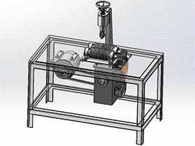 切管机 zdca2006 solidworks格式 3D图纸 三维模型