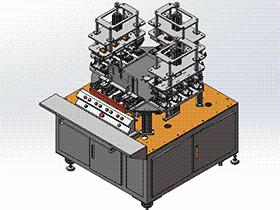 电路板PCB测试机 ZDJA1010 solidworks 3D图纸 三维模型